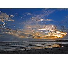 Sunset Over Penzance, Cornwall Photographic Print