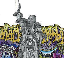 Kobe Bryant - The Black Mamba by wannafree