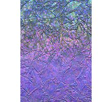 Sparkley Grunge Relief Background Photographic Print