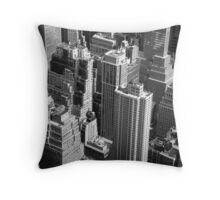The BuildingsOf Puzzles Throw Pillow