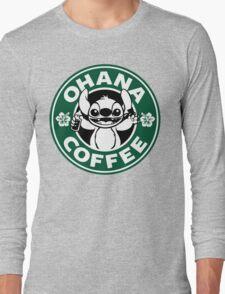 Ohana Coffee Long Sleeve T-Shirt