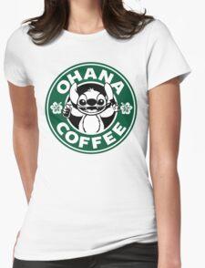 Ohana Coffee Womens Fitted T-Shirt