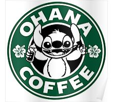 Ohana Coffee Poster