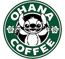 Ohana Coffee Photographic Print