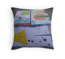 Tribute to Modernism Throw Pillow