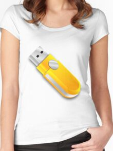 USB Women's Fitted Scoop T-Shirt