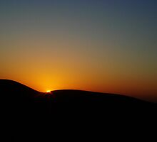 Sunset in the Desert by Gowar