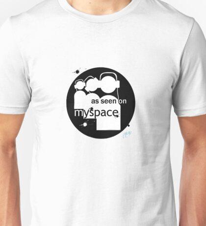 as seen on myspace Unisex T-Shirt