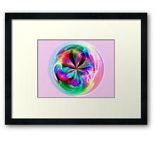 the artist within Framed Print