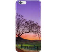 Sunset by the Gate - Gloucester NSW Australia iPhone Case/Skin