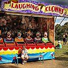 Laughing Clowns by Annette Blattman
