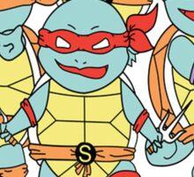 Teenage Mutant Ninja Squirtles Sticker