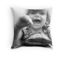 Can you guess what I'm thinking? Throw Pillow