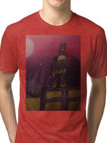 Batgirl Rising Tri-blend T-Shirt