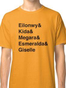 Second Tier Princesses Classic T-Shirt