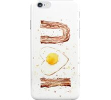 Bacon and Egg I Heart You iPhone Case/Skin
