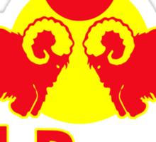 Red Bantha  Sticker