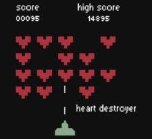HEART DESTROYER by Alvaro Sánchez