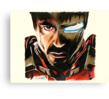 I Am Ironman Canvas Print