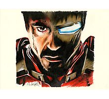 I Am Ironman Photographic Print