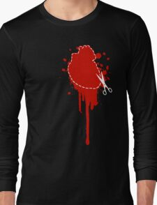 Cut Your Losses (red) Long Sleeve T-Shirt