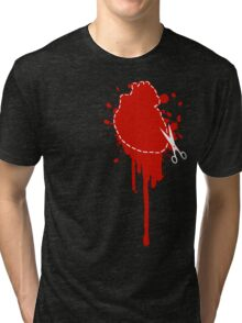 Cut Your Losses (red) Tri-blend T-Shirt
