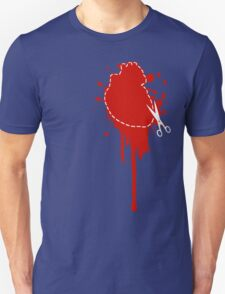 Cut Your Losses (red) Unisex T-Shirt