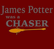 James Potter was a Chaser by GeekyToGo