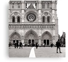 paris in the spring Canvas Print