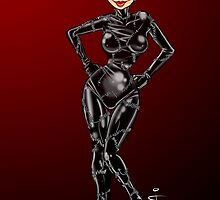 Catwoman red by Jan Szymczuk