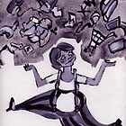 juggle woman by shallay