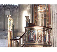 church podium Photographic Print