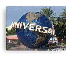 universal studios Canvas Print