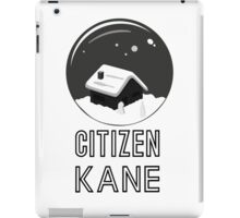 Citizen Kane by burro II iPad Case/Skin