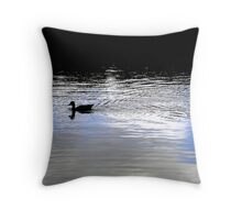 small duck Throw Pillow