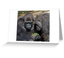 Do you think we can eat it?? Greeting Card