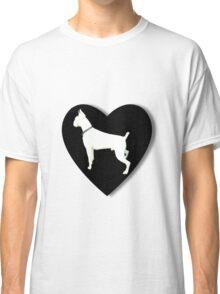 White boxer love  Classic T-Shirt