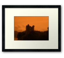Castle Urquhart Loch Ness Framed Print