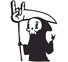 Death Metal Grim Reaper Photographic Print