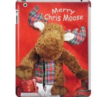 Merry Chris Moose iPad Case/Skin