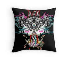 Femme Fatality Throw Pillow