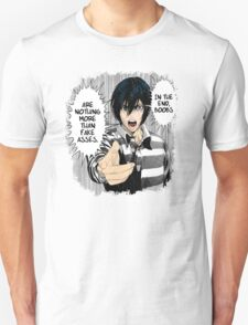 """Prison School - Kyoshi """"In the end, boobs are nothing more than fake asses"""" T-Shirt"""