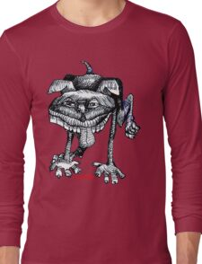 Peeing Puppy Long Sleeve T-Shirt