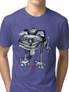 Peeing Puppy Tri-blend T-Shirt