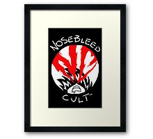 NoseBleed Cult™ Logo2 Framed Print