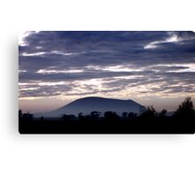 mt elephant - warrnambool, victoria, australia Canvas Print