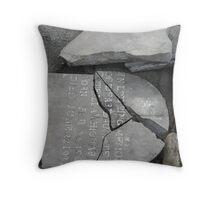 Rotter Bottom Cemetery #3 Throw Pillow
