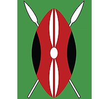 Kenyan Shield Photographic Print