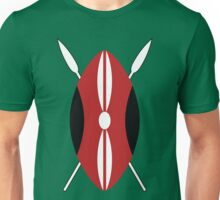 Kenyan Shield Unisex T-Shirt
