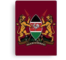 Kenyan Court of Arms Canvas Print